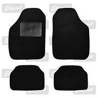 Коврики черные Elegant Plus 215011 текстиль B