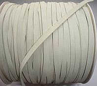 Резинка для купальников белая, 5мм