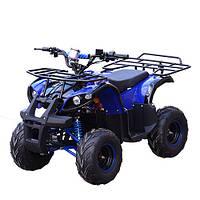 Детский железный квадроцикл Profi HB-EATV 800N-4, синий