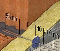 Гибкая связь DUO Ø 4 mm 93 мм
