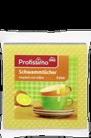 Влаговпитывающие салфетки  Profissimo Schwammtücher, 5 St