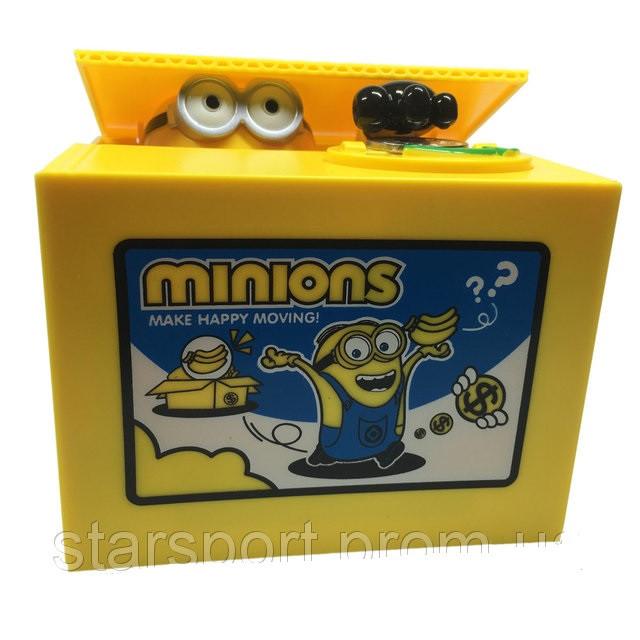 Копилка  Minion - детская интерактивная копилка