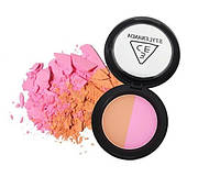 Двухцветные румяна 3CE Duo Color Face Blush Цвет - 2