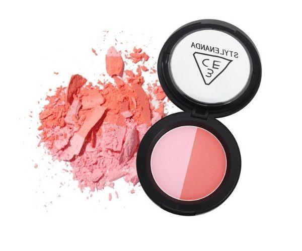 Корректирующие румяна для лица 3CE Duo Color Face Blush Цвет - 5