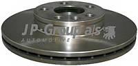 Гальмівний диск передній вентильований (R16, 300x26mm) VW Transporter T4 90-03 1163104700 JP GROUP