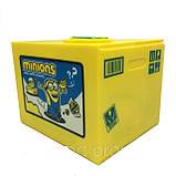Копилка  Minion - детская интерактивная копилка, фото 2