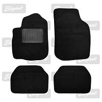 Коврики черные Elegant Plus 215012 текстиль C