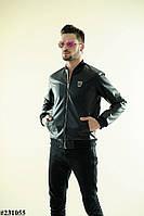 Мужская кожанная куртка Philipp Plein