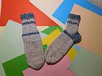 Вязаные носочки ручной работы 34-35р