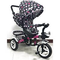 Трехколесный велосипед M 3200-6A-D(аналог Puky Cat S6), розовый***