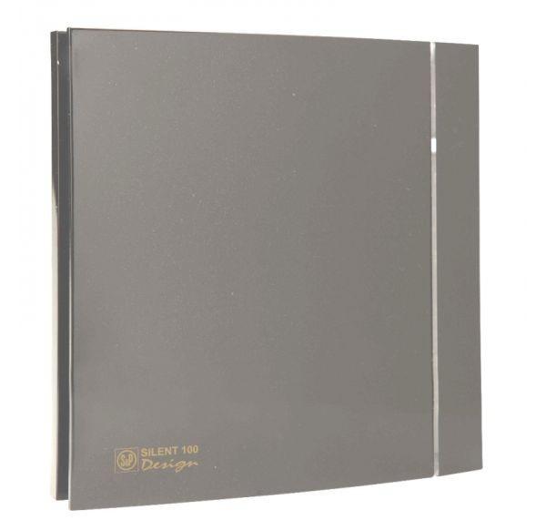 Вентилятор Soler&Palau Silent-100 CZ GREY DESIGN - 4C