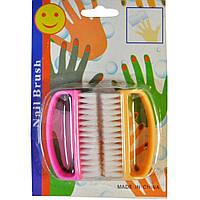 Щітка для нігтів 2шт