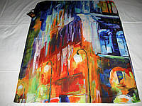 Шарф Lorentino тенсель 70% шёлк 30%  можно приобрести на выставках в доме торговли Киев