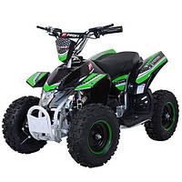 Детский железный квадроцикл Profi HB-EATV 800K-5, 800w,30км.ч., зеленый