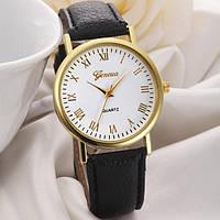 Наручные часы Женева Классика черный цвет, фото 1