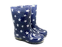 Сапоги резиновые детские ЮНГА/Звезды на синем (10 пар)