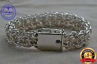 Мужской серебряный браслет Рамзес