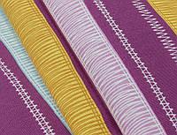 Ткань для штор полоса принт Испания