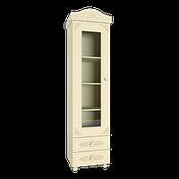 Белль ПлюсАС-01 шкаф-пенал со стеклом