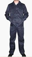 """Рабочий костюм синий модель """"ИТР"""" куртка с брюками гретта 35% хлопок"""