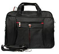 Чоловіча тканинна сумка - портфель під ноутбук і документи (52008)