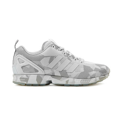Мужские кроссовки  Adidas ZX FLUX (Vintage White / Clear Grey)