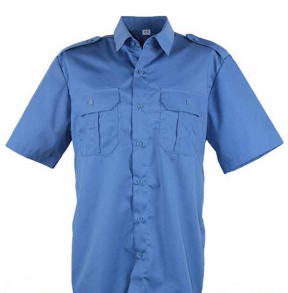 ceb6da25b17 Рубашка форменная с коротким рукавом голубая под заправку  купить ...