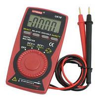 Мультиметр 18 UA: напряжение/ сопротивление/ ёмкость/ частота, щупы, батарейка CR2032, 12х8х1,5 см