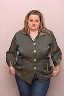 Жакет женский JING 62, зеленый