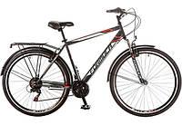 """Велосипед 28"""" Formula HORIZONT AM 14G Vbr рама-20,5"""" St черно-красный (м) с багажником зад St, с крылом St 201"""