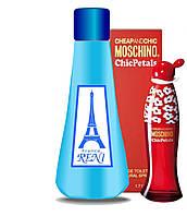 Рени духи на разлив наливная парфюмерия 421 Cheap & Chic Chic Petals Moschino для женщин