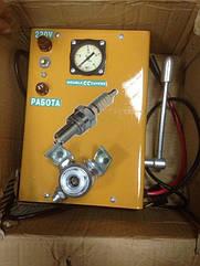 Стенд для проверки свечей зажигания под давлением (220В) ПРСВ220