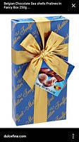 "Шоколад Maitre Truffout, Belgian Pralines ""Assorted"", 100 г"