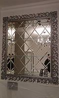 Зеркальное оформление ниши в доме или квартире