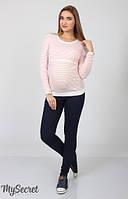 Джеггинсы для беременных Pink темно-синие