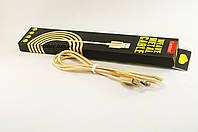 USB кабель шнур для iPhone 5,6,7 Lightning , кабель для зарядки айфона 1.5м Earldom