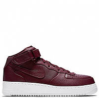 Женские кроссовки Nike Air Force 1 High PRM Maroon