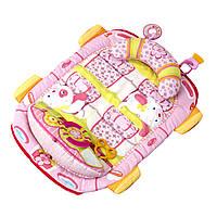 Коврик для выкладывания на животик розовый Bright Starts (8819)