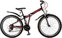 """Велосипед 26"""" Formula HUMMER AM 14G Vbr рама-15"""" St чёрно-красный с крылом Pl 2017"""