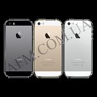 Задняя крышка корпус iPhone SE золотистая