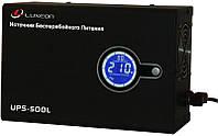 Источник бесперебойного питания ИБП для котла Luxeon UPS-500L синусоида
