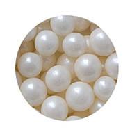 """Посыпка """"Жемчужные шарики (белые) 7 мм."""", 50 гр."""
