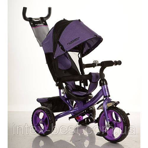 Трехколесный велосипед M 3113-8 фиолетовый