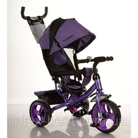 Трехколесный велосипед M 3113-8 фиолетовый, фото 2