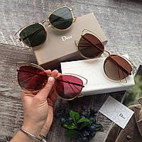 Стильные брендовые женские солнцезащитные очки для девушек Dior sideral Диор c9a77caf334