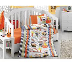 Постельное белье для новорожденных Cotton Box Hazine Oranj CB24