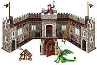 Игровой набор №2 Замок Дракона с фигурками, Bullyland