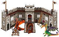 Игровой набор №3 Замок Дракона с фигурками, Bullyland