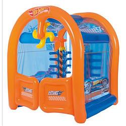 Детский надувной игровой центр Bestway Hotwheels