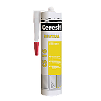 Герметик силіконовий нейтральный Ceresit CS 16 (прозорий), 280 мл
